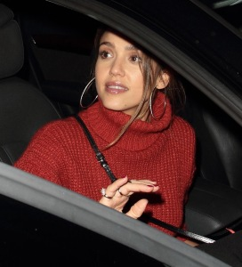 EXC - JESSICA ALBA AND CASH WARREN DATE NIGHT IN HOLLYWOOD