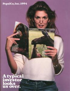 Cindy Crawford angora sweater