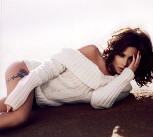 Cheryl Cole photoshoot for 'The Official Cheryl Cole Calendar 20