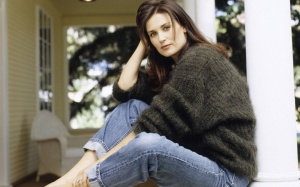 demi-moore mohair sweater