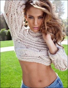 Jennifer Lopez sweater