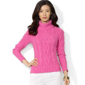 lauren-by-ralph-lauren-umbrella-pink-lauren-jeans-co-cableknit-turtleneck-sweater-product-1-15764447