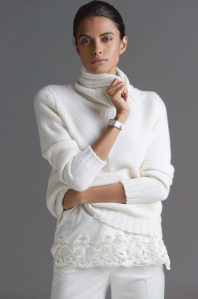 Madeleine Sweater in Wool White