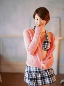 Rei Okamoto in pink sweater08