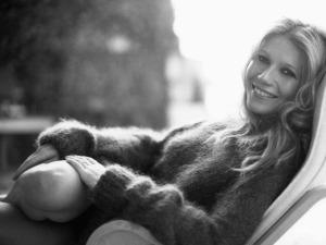 Gwyneth Paltrow mohair pullover