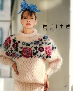Uma Thurman - mohair sweater