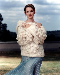 Winona Ryder Vogue sweater